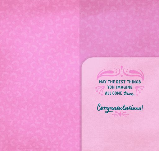 All That You Can Be Bat Mitzvah Money Holder Card,
