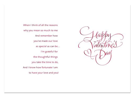 So Many Reasons Valentine's Day Card for Husband,
