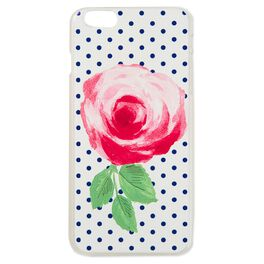 Pretty and Preppy Rose iPhone 6 Plus Case, , large