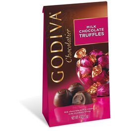 Godiva Chocolatier Individually Wrapped Milk Chocolate Truffles, , large