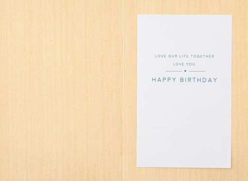 Love Our Life Birthday Card,