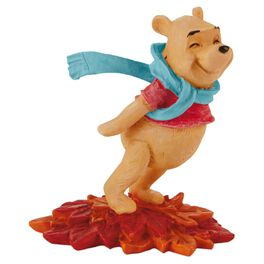 Pooh Leaning in the Wind Figurine, , large