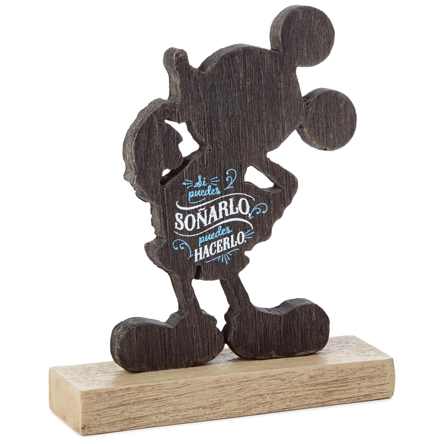 Mickey Mouse Dream It Spanish-Language Quote Sign - Plaques ...