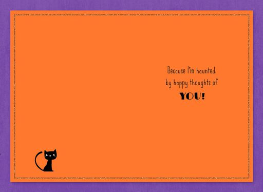 Just a Little Boo Halloween Card,