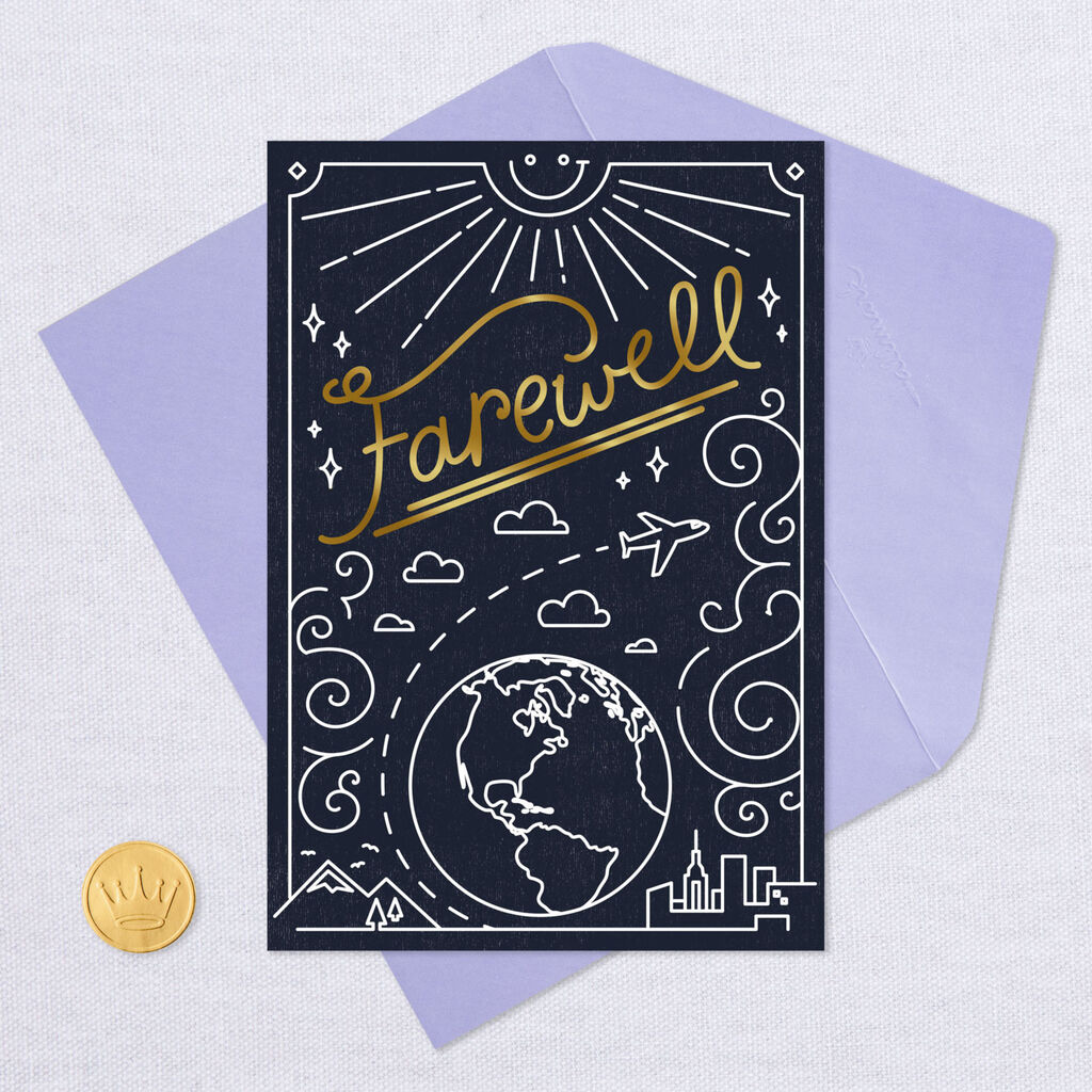 goodbye card ideas for coworker