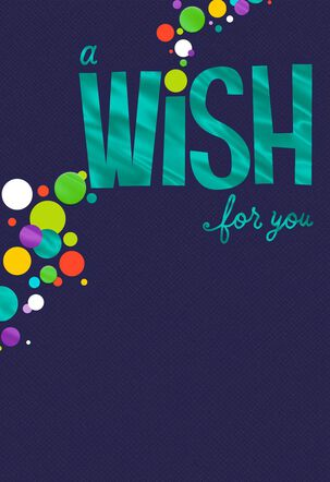 A Wish for You Birthday Card