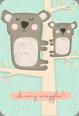 So Many Snuggles New Baby Card