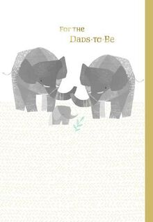 Dads-to-Be Baby Card,