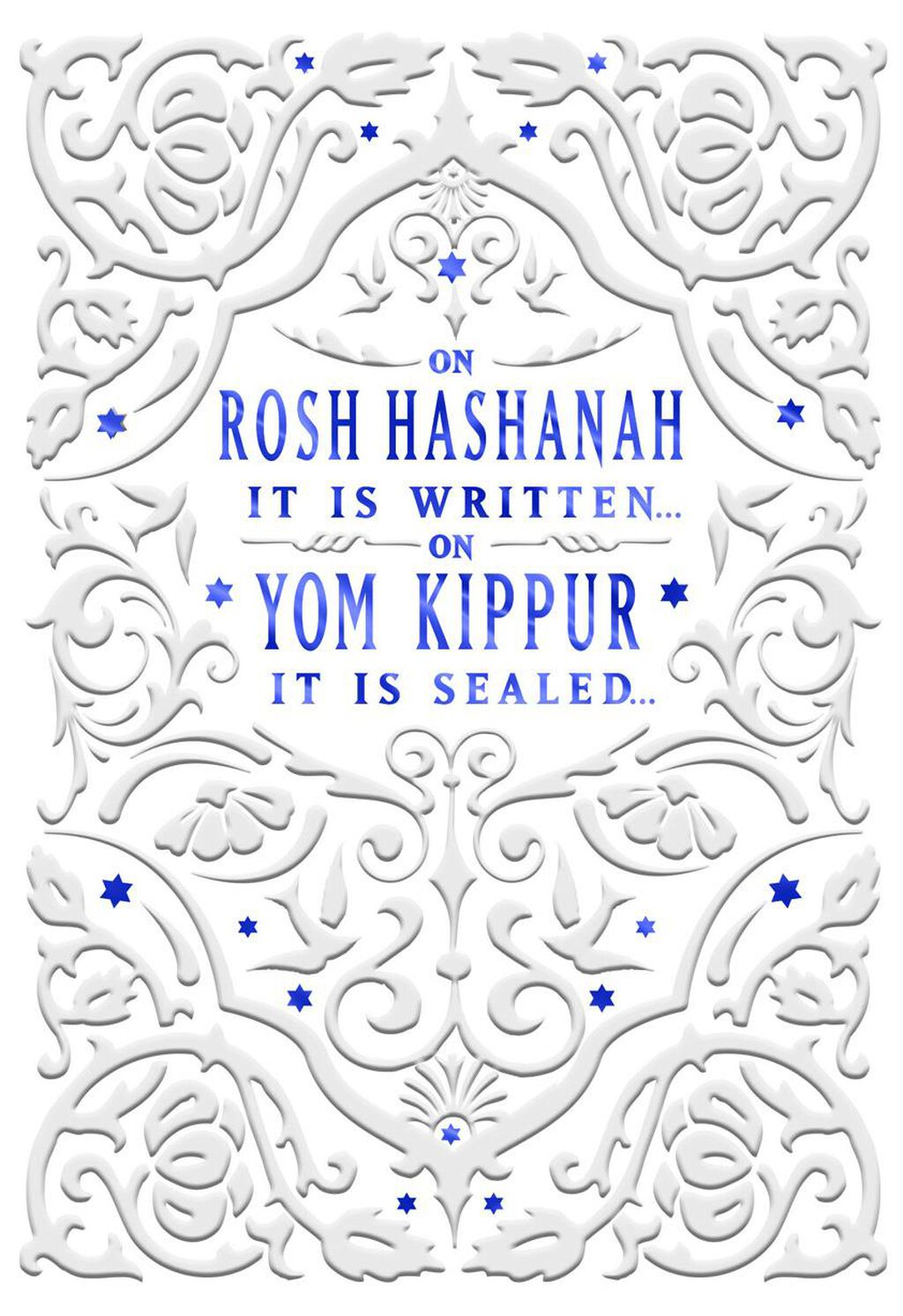 New Year And Yom Kippur Rosh Hashanah Card Greeting Cards Hallmark