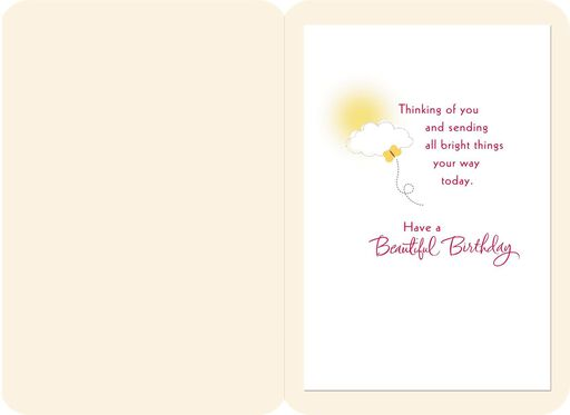 Winnie the Pooh Birthday Card for Granddaughter,