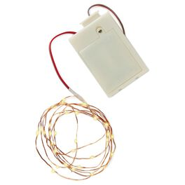 Micro-LED String Lights With Battery, , large