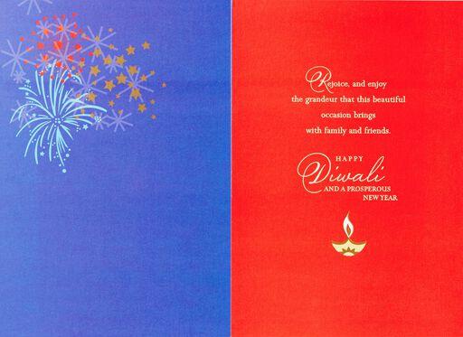 Sparkling Diwali Card,