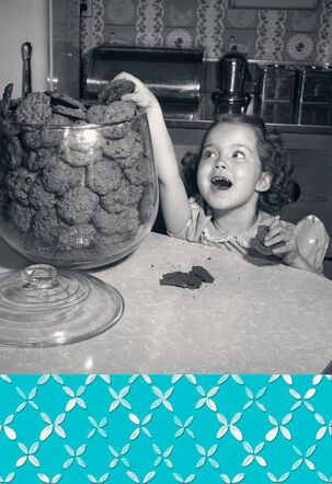 Cookie Jar Raid Funny Birthday Card