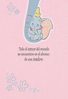 Disney Dumbo Spanish-Language Mother's Day Card,