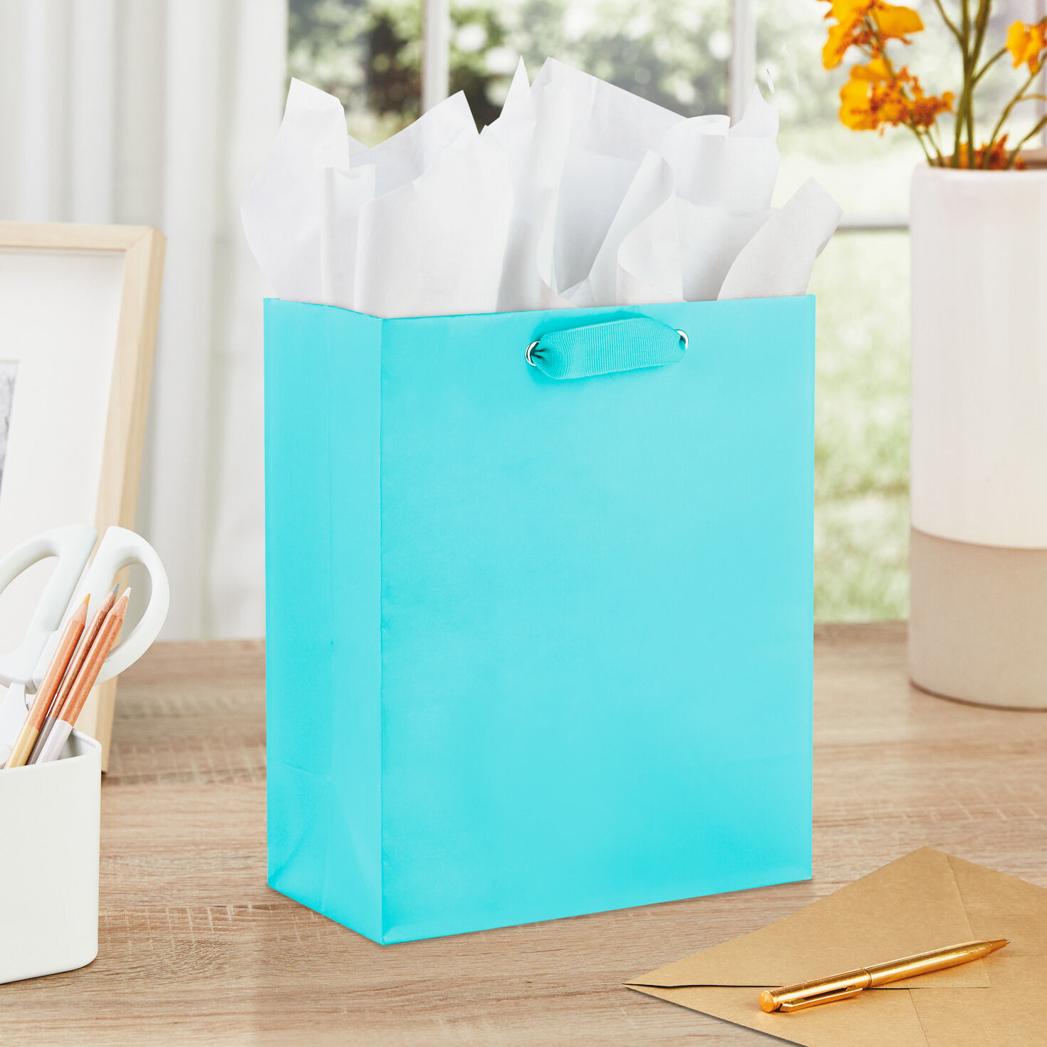 5 Pieces Wine Paper Holder Bags For Dinner Gift