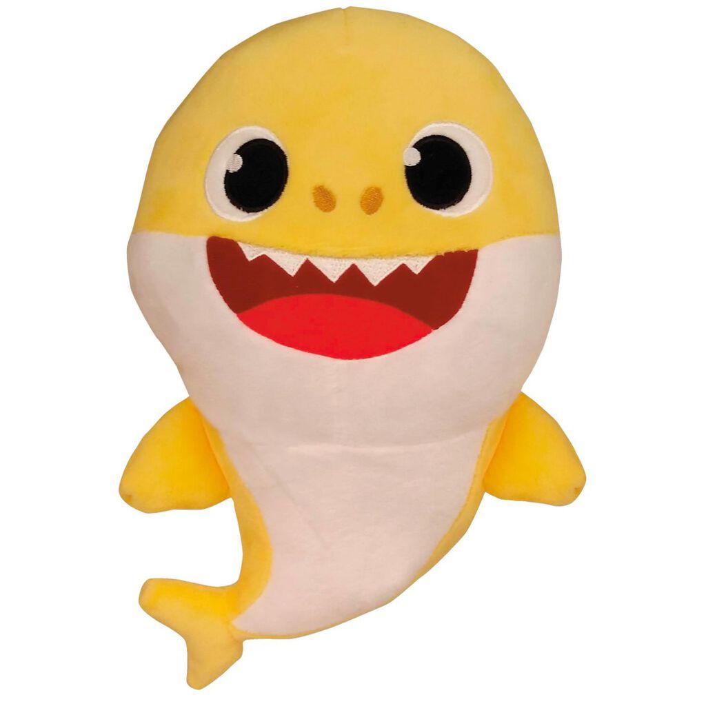 6c1fa34c Yellow Baby Shark Musical Stuffed Animal, 9.5