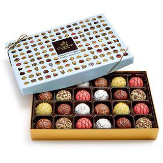 Godiva Assorted Pâtisserie Dessert Truffles in Gift Box, 24 Pieces,