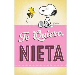 Peanuts® Snoopy and Woodstock Spanish-Language Pop-Up Birthday Card,