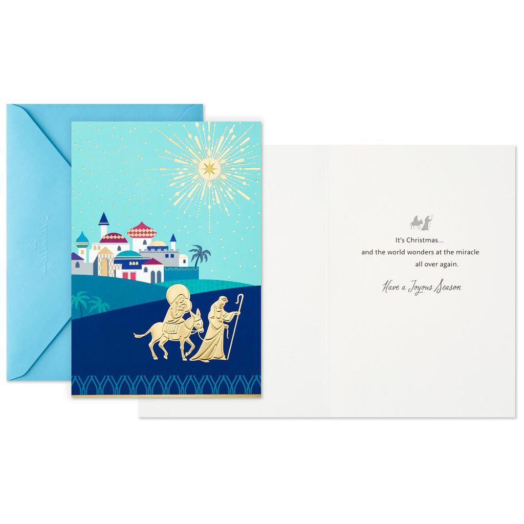 Holy Family Christmas Miracle Christmas Cards, Box of 16 - Boxed ...