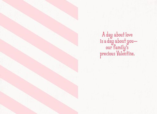 Granddaughter First Valentine's Day Card,