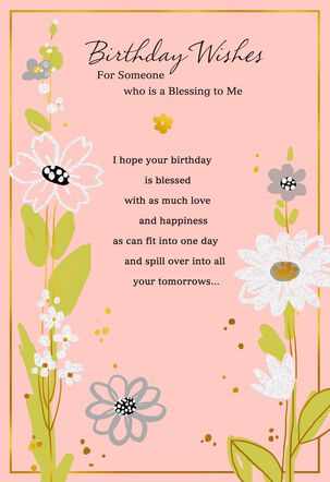 Wish for Purpose and Fulfillment Birthday Card