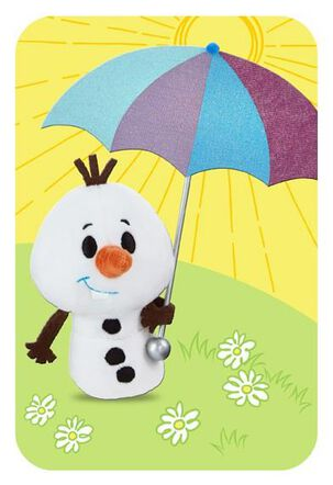 Frozen itty bittys® Greetings Easter Card