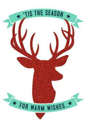 Warmest Thanks Christmas Card