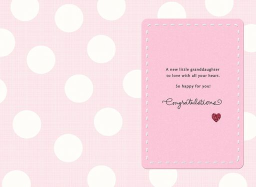 A New Granddaughter Card,