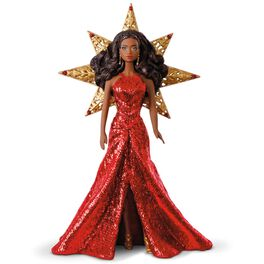 2017 African-American Holiday Barbie™ Ornament, , large