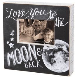 Primitives by Kathy Love You to the Moon & Back Picture Frame, 4x6, , large