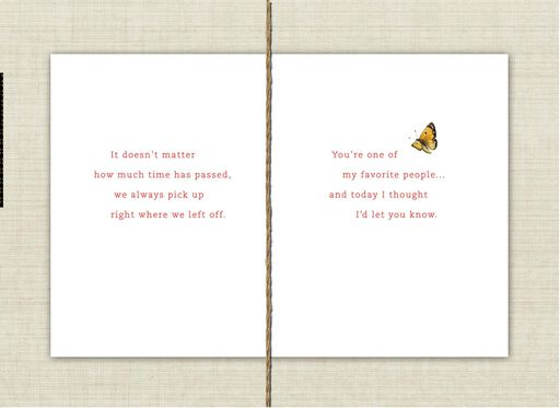 Marjolein Bastin Friends for Life Thinking of You Card,