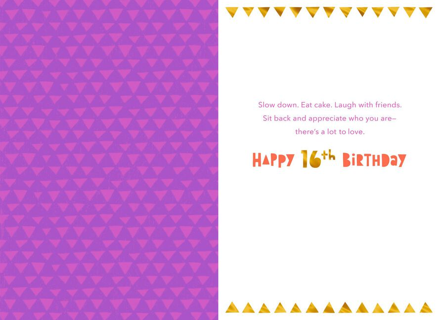 16 Years Amazing 16th Birthday Card Greeting Cards Hallmark