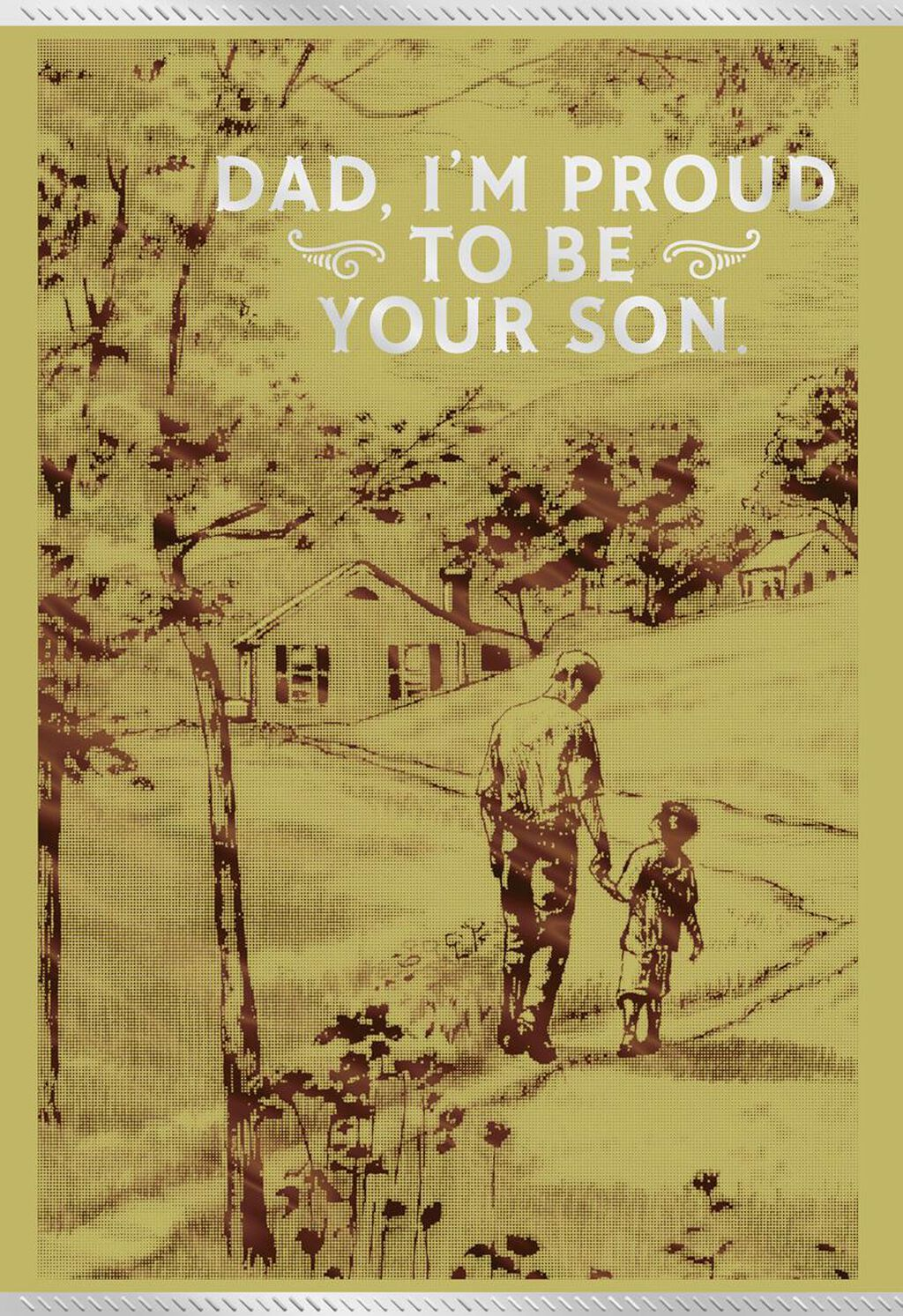 Im Proud To Be Your Son Birthday Card For Dad