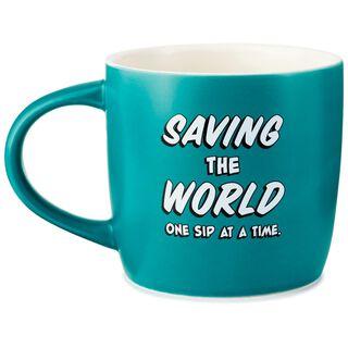 WONDER WOMAN™ Saving the World Mug, 16 oz.,