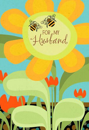 UNICEF Honeybee Father's Day Card for Husband