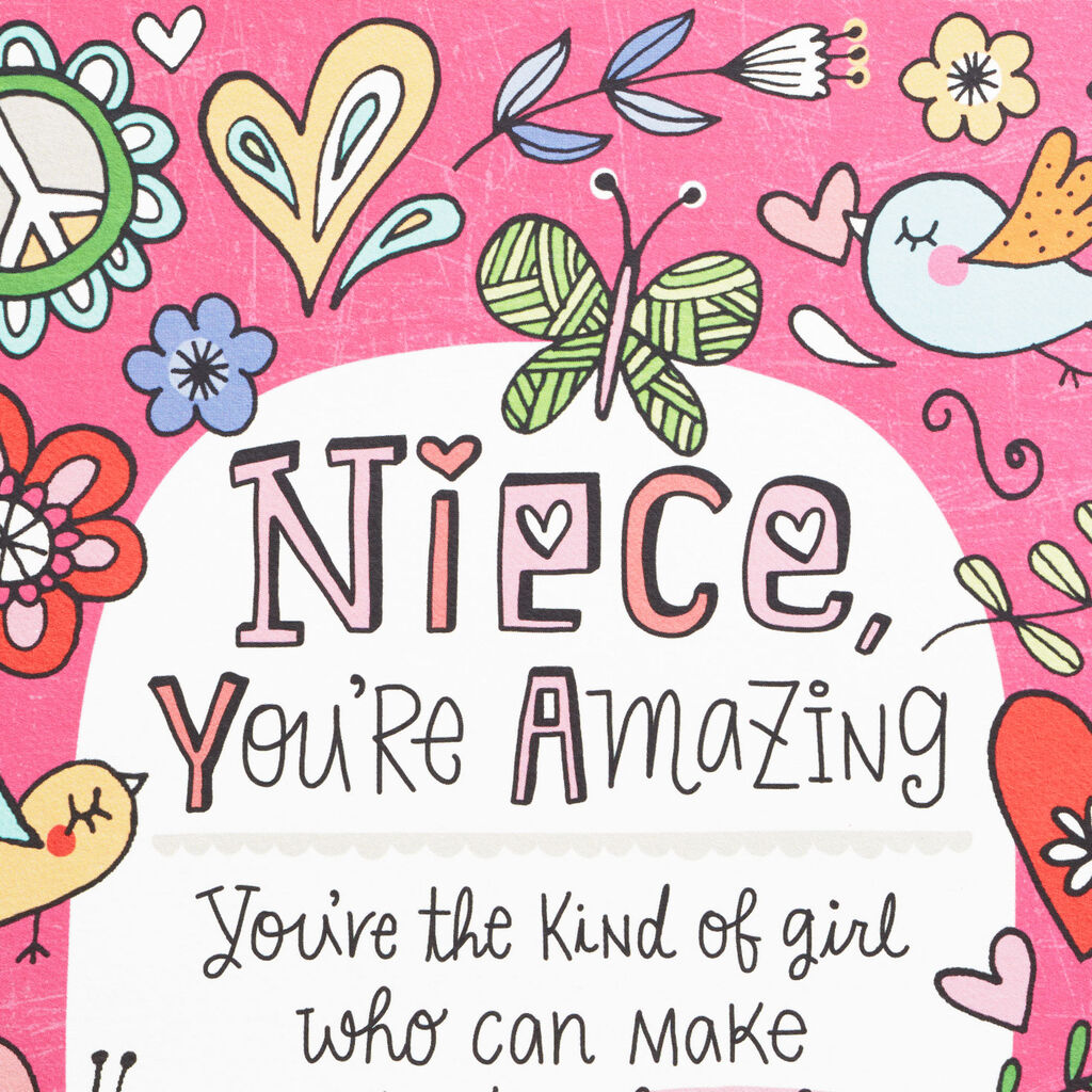Birthday Card For Niece.You Re The Niece Families Dream About Birthday Card