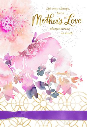 Thank You With All My Heart Mother's Day Card