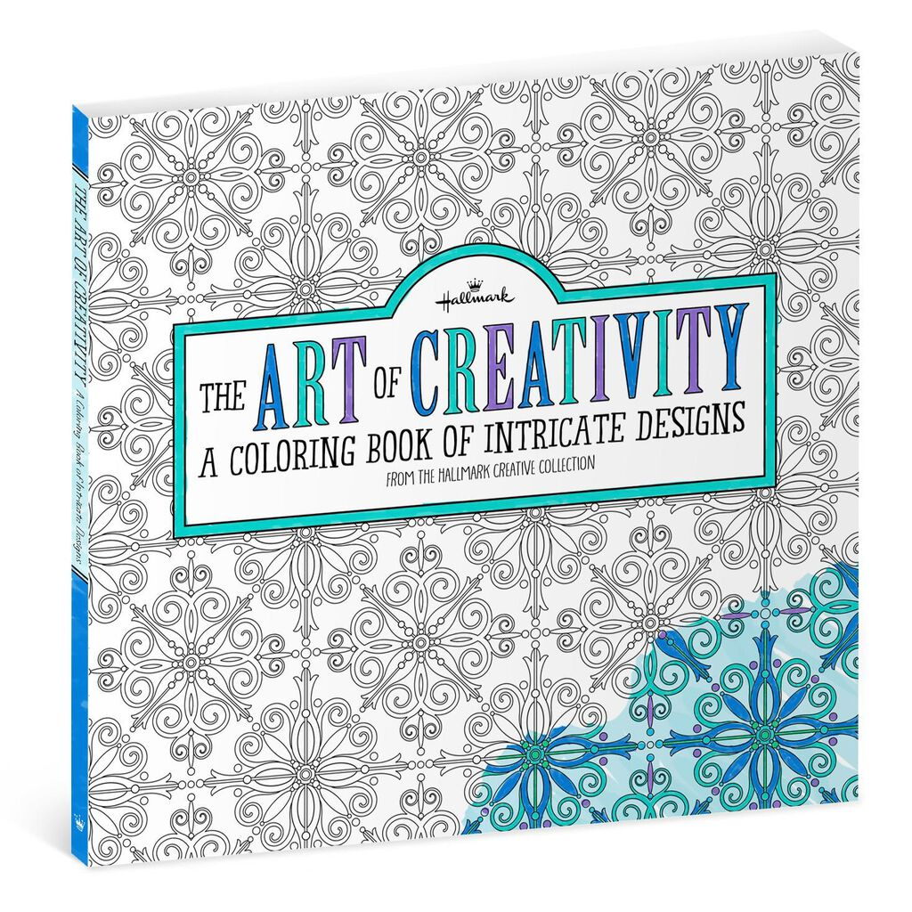 The Art Of Creativity Intricate Designs Coloring Book For Adults