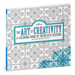 The Art of Creativity Intricate Designs Coloring Book for Adults, , large
