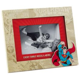 SUPERMAN™ Every Family Needs a Hero Picture Frame, 4x6, , large