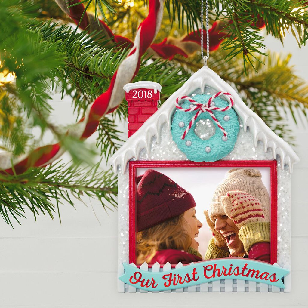 Our First Christmas 2018 Photo Ornament Our First Christmas 2018 Photo Ornament ...