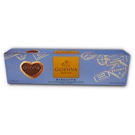 Godiva Chocolatier Signature Milk Chocolate Biscuits, 12 Pieces, , large