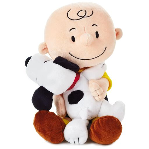 d56720c08cf73 Peanuts® Charlie Brown and Snoopy Hugging Stuffed Animal