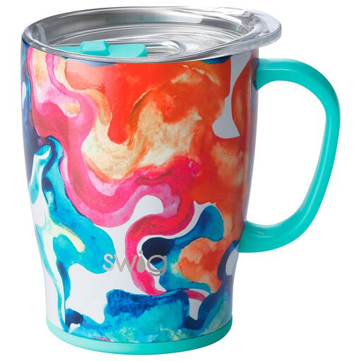 fd5aa9c1769 Swig Life Color Swirl Insulated Travel Mug, 18 oz., Color Swirl Product  quick look