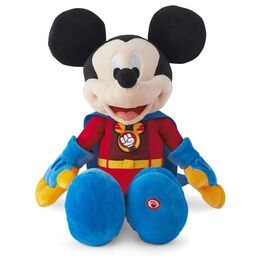 Super Mickey Mouse Interactive Stuffed Animal, , large