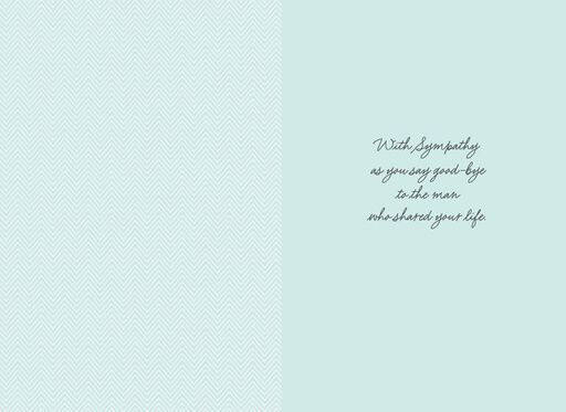 Your Husband, Your Soul Mate Sympathy Card,