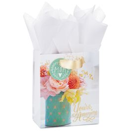 "You're Amazing Mother's Day Small Gift Bag With Tissue Paper, 6.5"", , large"