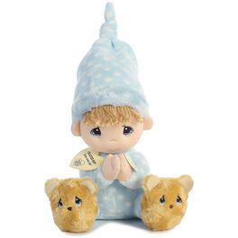 "Aurora Precious Moments Talking Prayer Boy Stuffed Doll, 9.5"", , large"