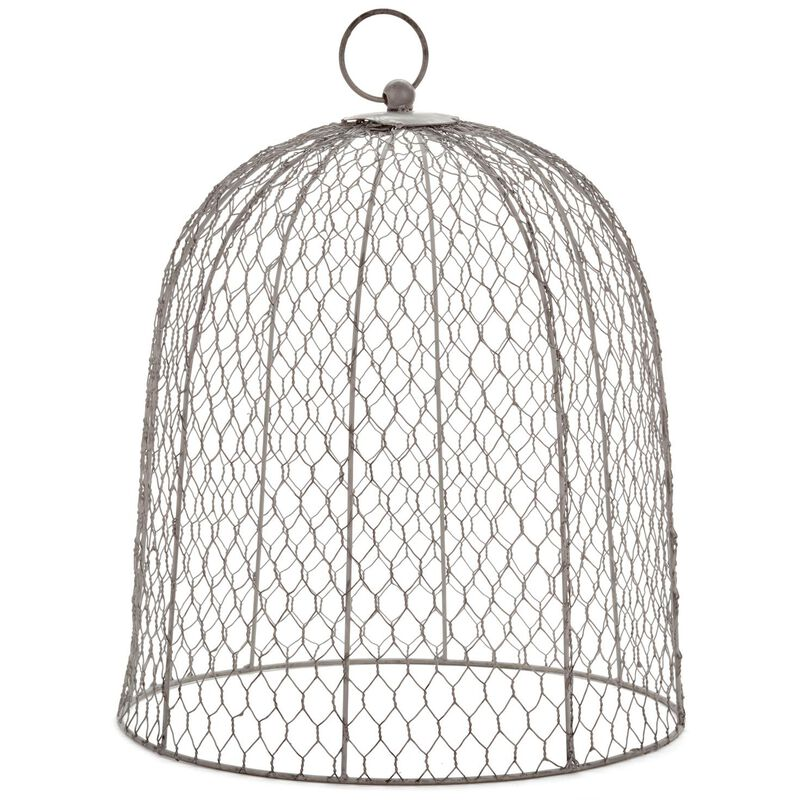 Fine Homemade Wire Garden Cloche Image Collection - Electrical and ...