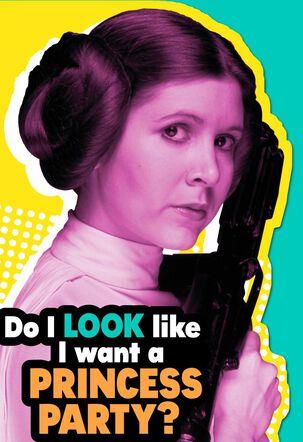 Star Wars™ Princess Leia™ Party Your Way Birthday Card